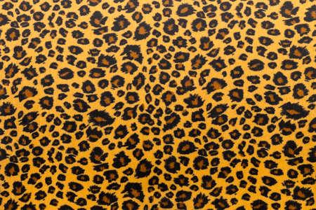 Foto de closeup artificial tiger skin pattern Background - Imagen libre de derechos