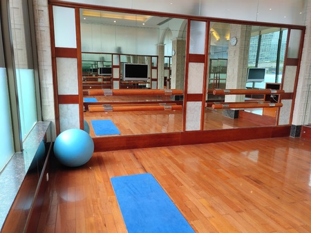 A Dancing and Yoga Room