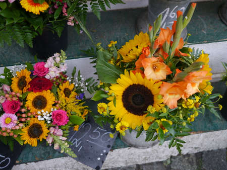 Flowers for sales