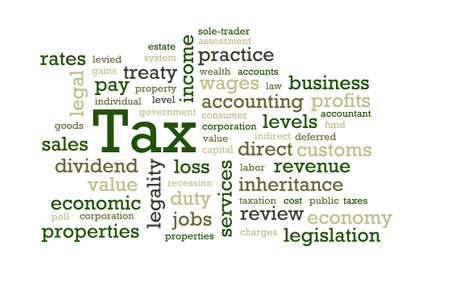 Words associated with Tax