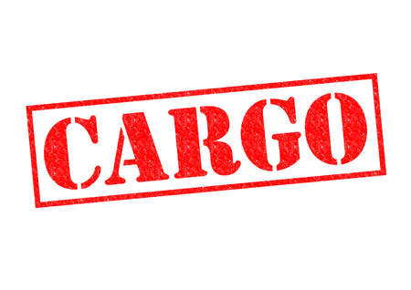 CARGO red Rubber Stamp over a white background.