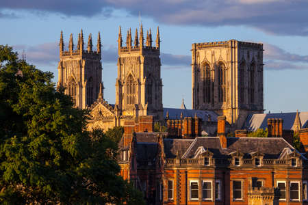 The magnificent York Minster in York, England.