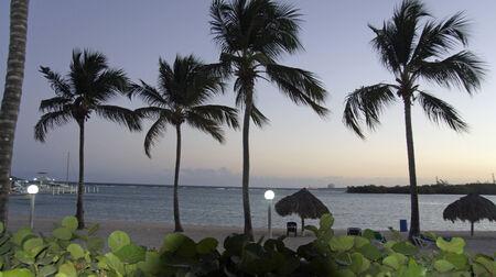 caribbean sunset in boca chica