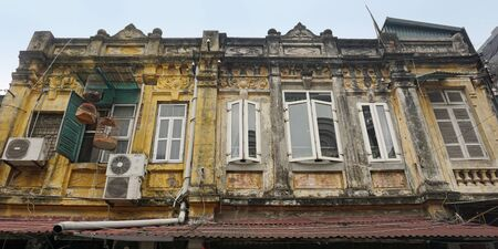typical architecture from hanoi the capitol of vietnam