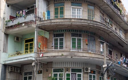 suburb area of ho chi minh city with residential houese