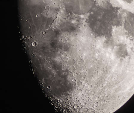 Astrophoto of moon and the crater Copernicus