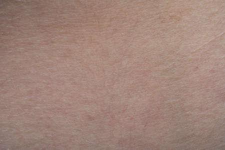Photo pour Macro shot of the young pink humans skin texture - image libre de droit