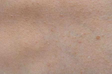 Photo pour Photo of humans skin texture, macro shooting - image libre de droit