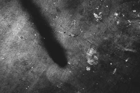 Foto de Image of old scratched surface texture in black colors - Imagen libre de derechos