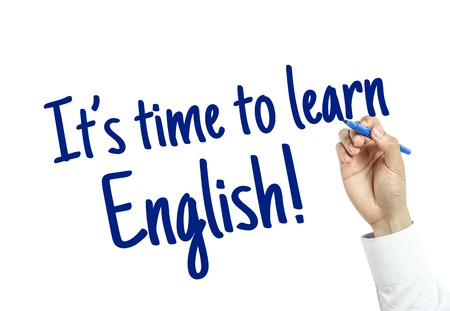 Photo for The language learning concept of Learn English for English Education. - Royalty Free Image
