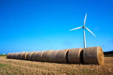 wind turbine deal with haystacks