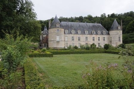 Chateau de Bussy-Rabutin  France, Bourgogne