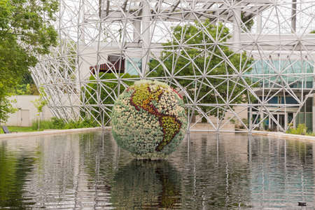 The Biosphere is in the former pavilion of the United States for the 1967 World Fair