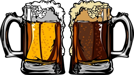 Beer or Root Beer Mugs Images