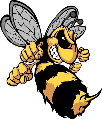 Bee Hornet Cartoon Image