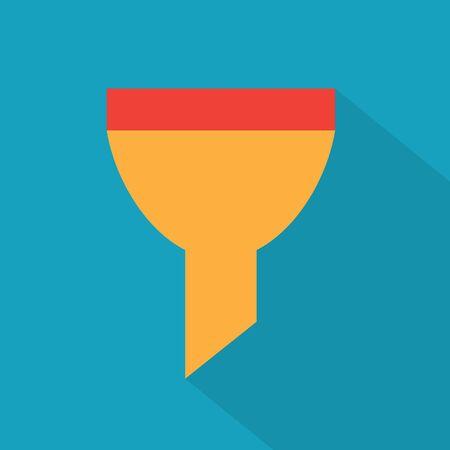 Illustration pour colorful funnel icon- vector illustration - image libre de droit