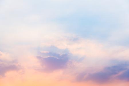 Sky in sunset