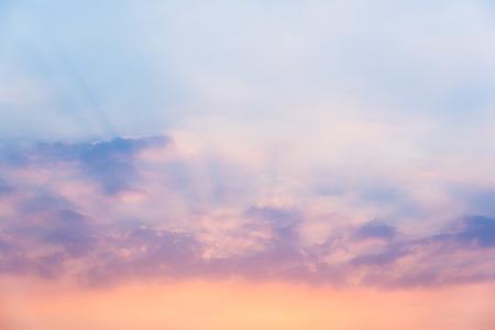 Photo pour Sky in sunset - image libre de droit