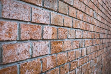 Lightweight concrete brick wall, construction, concrete brick wall