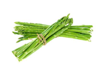 Foto für Fresh green asparagus on white background - Lizenzfreies Bild