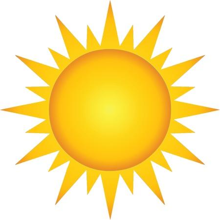 Illustration for Summer Hot Sun - Royalty Free Image