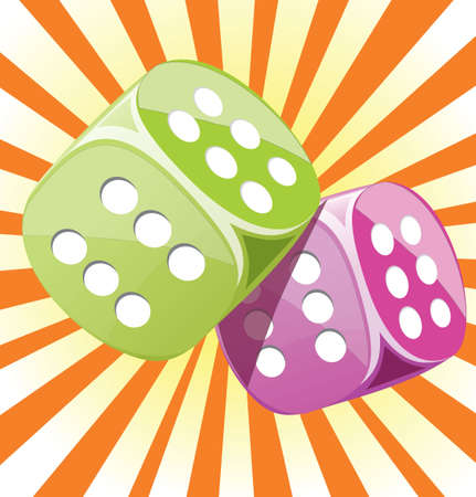 Dice lucky casino gambling game win success