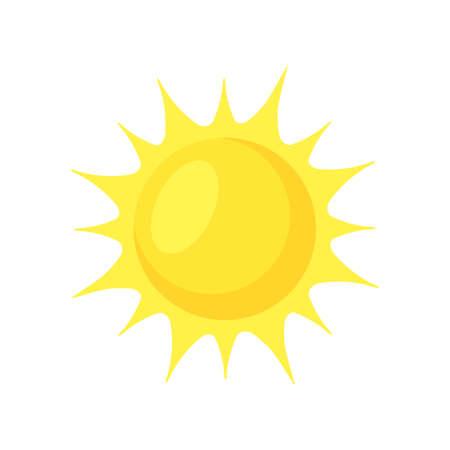 Illustration for Sun shining. - Royalty Free Image