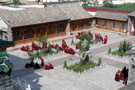 Qinghai Kumbum monastery
