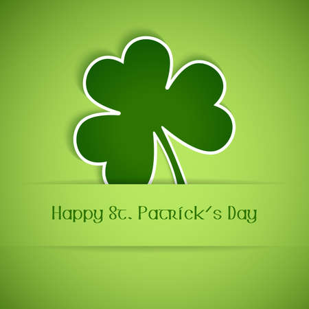 Shamrock, clover design, perfect for St  Patrick