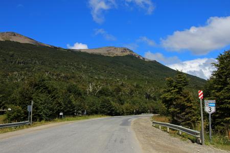 Road sign ruta route 40, Patagonia Argentina