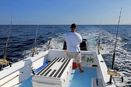 Foto de Big game or deep sea fishing in Costa Rica, Central America - Imagen libre de derechos