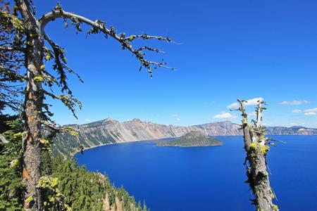 Landscape in Crater Lake National Park, Oregon, USA