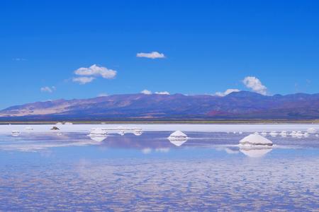 Salinas Salitral Grandes, great salt lake desert, near Susques, Jujuy Province, Argentina, South America