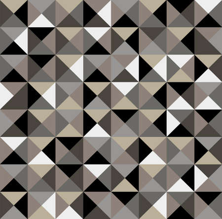 Abstract geometric vintage seamless pattern background