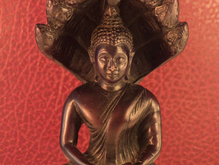 Black Bouddha statue