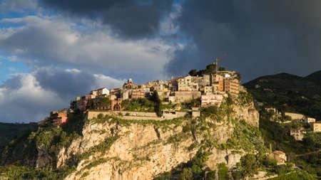 Hilltop village of Castelmola, Sicily, Italy