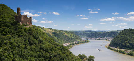 Panorama Of The Rhine River