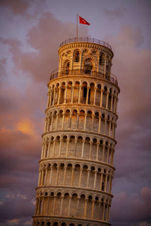 Photo for with Leaning Tower and Cattedrale di Pisa in Pisa, Italy. - Royalty Free Image