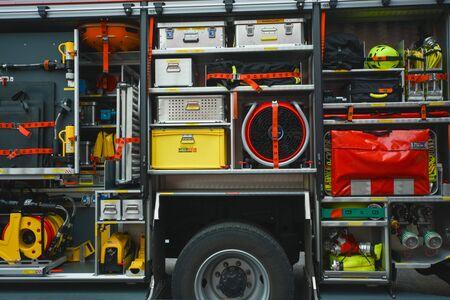 Foto für Instruments of the fire brigade in Germany - Lizenzfreies Bild