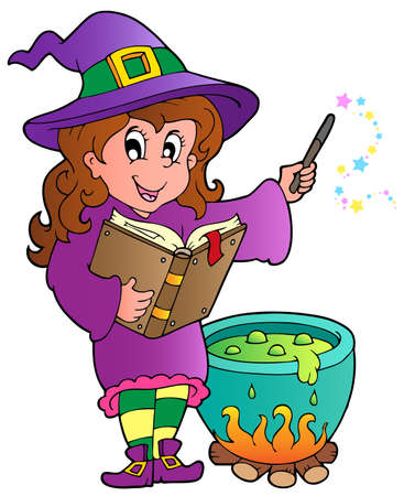 Halloween character image  illustration.