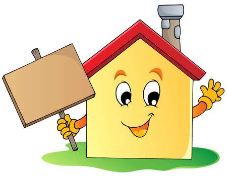 House theme image 2 - vector illustration