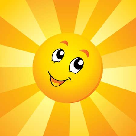 Ilustración de Sun theme  - Imagen libre de derechos