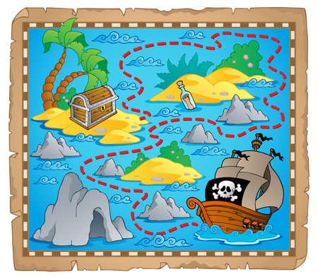 Treasure map theme