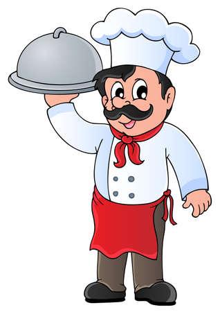 Ilustración de Chef theme image 4 - vector illustration  - Imagen libre de derechos
