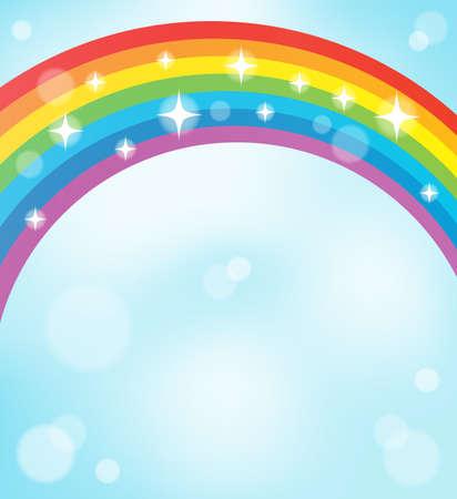Image with rainbow theme