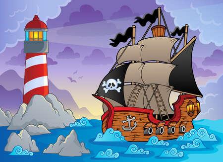 Lighthouse theme image