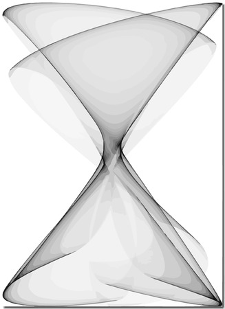 vector - seamless abstract  hourglass