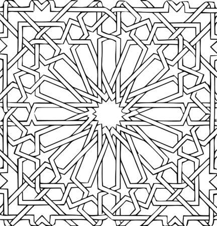 vector - arabic ceramic tile