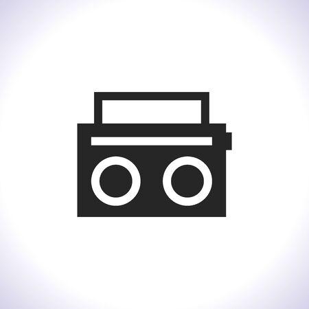 Illustration pour Radio Vector icon . Lorem Ipsum Illustration design - image libre de droit