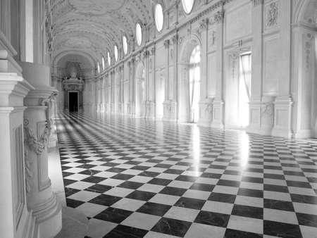 Galleria di Diana at Reggia di Venaria, near Turin